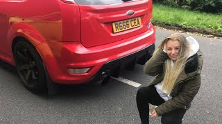ford focus st exhaust video, ford focus st exhaust clips