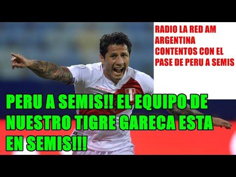 """RADIO #ARGENTINA #PERU 4-3 #PARAGUAY """"PERU A SEMIS! EL EQUIPO DE NUESTRO TIGRE ESTA EN SEMIS!!!!"""