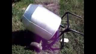 Самодельная бетономешалка # Сборка (concrete mixer)(, 2012-11-18T20:08:54.000Z)