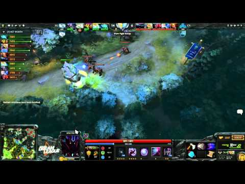 EG vs Cloud9 - DreamLeague #2 - playoffs - G2