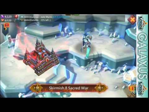 Lords Mobile-How To Beat Skirmish 8 (Complete Victory) + Unlocking Death Knight