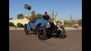 Ride in a 1913 Bugatti Grand Prix Race Car ? Why Not ! on My Car Story with Lou Costabile