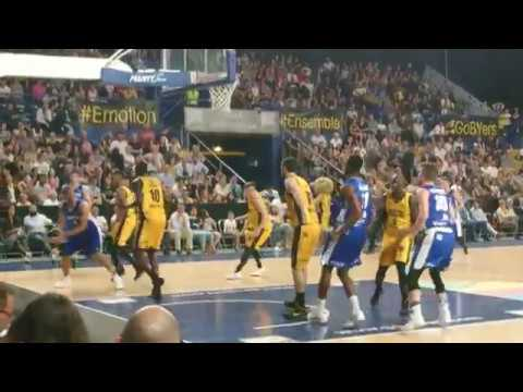 Fos Provence Basket vs Quimper 24 avril 2018