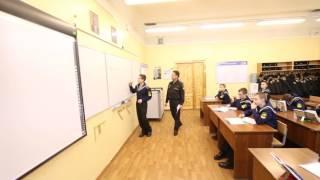 Фрагмент урока русского языка в 7-г классе