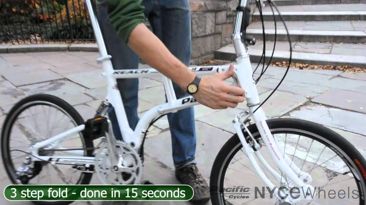 IF Reach folding bike - Video Review - YouTube