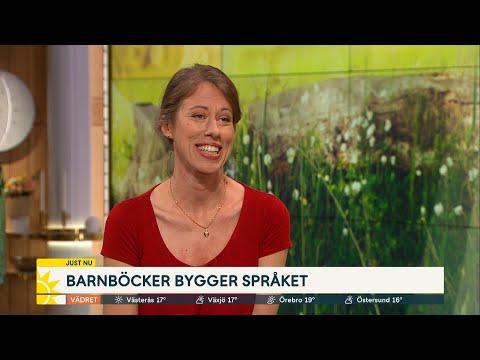 Smarta böckerna för barnens språk - Nyhetsmorgon (TV4)