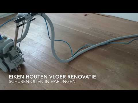 Renovatie eiken vloer in Harlingen