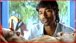 Yaaradi Nee Mohini Tamil Movie - Dhanush saves Sukumari