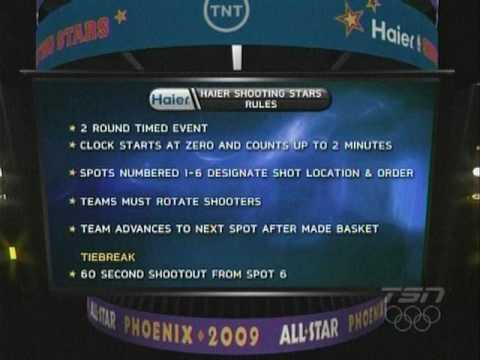 NBA Haier Shooting Stars 09 Full Broadcast Part 1