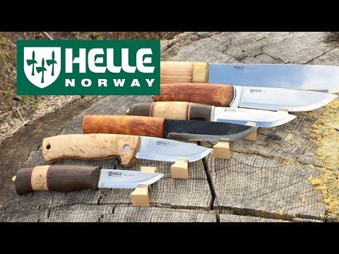 Helle Knives Mega Review: Eggen, Sigmund, Harding, HelleGT, Viking, Dokka, Lappland