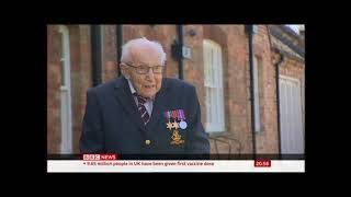 Respect to a national hero - R.I.P  Captain Tom Moore