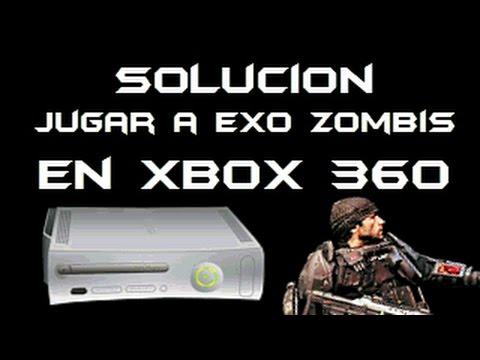 Solucion Jugar Exo Zombies En Xbox 360 Call of Duty Advanced Warfare