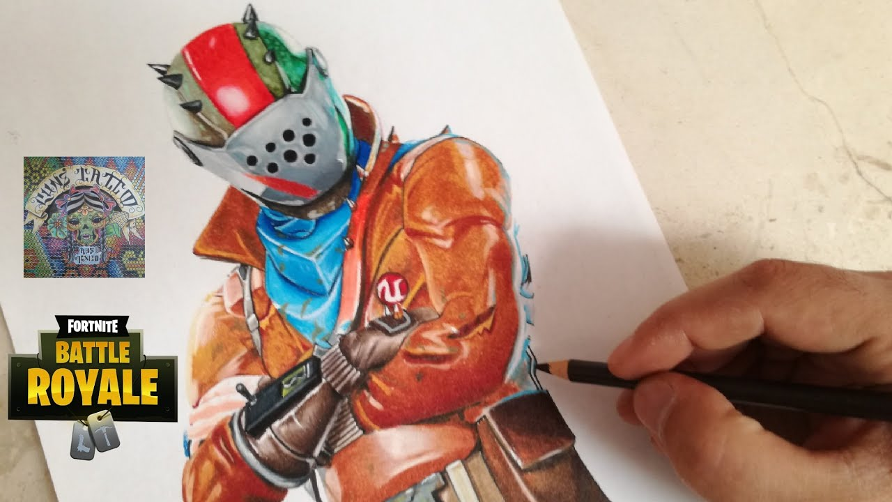 Como Dibujar Al Señor Del Oxido Fortnite How To Draw Rust Lord Fortnite