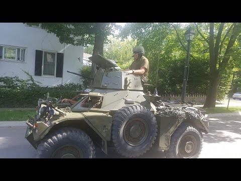 War Vehicles Parade - Niagara On The Lake, Ont.