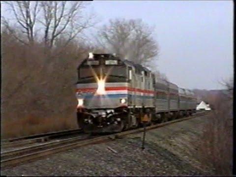 Amtrak in Upstate NY 1999 - Part 5 (including the Buffalo Bills Express)