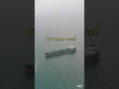 Saudi Arabia offshore Helicopter view
