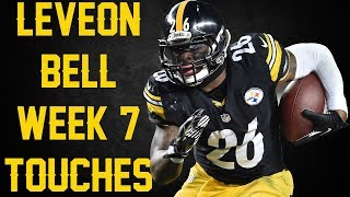 EVERY Le'Veon Bell Touch || Week 7 2017 || Bengals @ Steelers