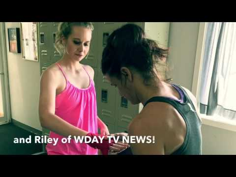 Kickboxing with the ladies of WDAY TV News