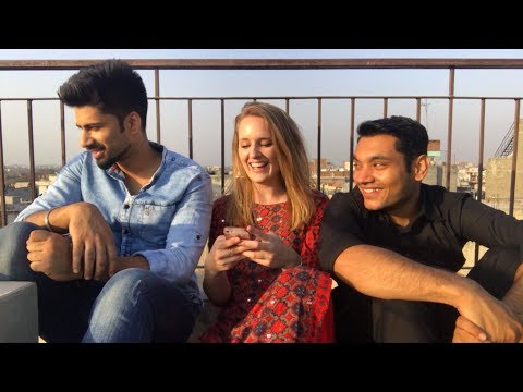 ONE BRITISH GIRL & TWO INDIAN GUYS !