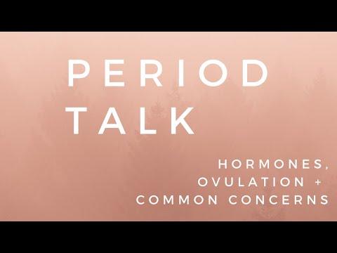 PERIOD TALK | Hormones, Ovulation & Common Concerns  | Chloe Wilkinson Naturopath