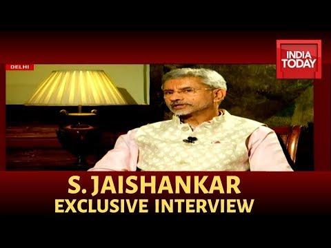 S Jaishankar Exclusive Interview; Speaks On Talks With Pakistan,Trump Visit & More