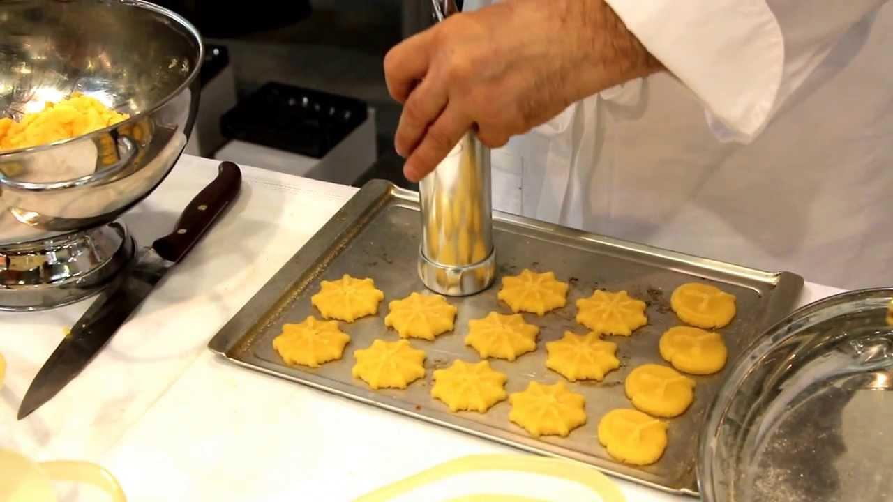 Рецепт печенья для кондитерского пресса
