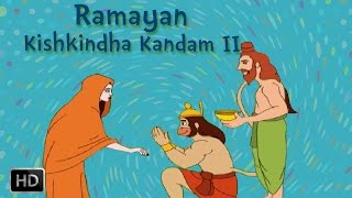 Ramayan Full Movie - Kishkindha Kandam (Part - 2) - Killing Of Valli - Animated Stories for Children