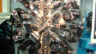 Станки-мультиформеры для изготовления пружин. Серия RFM(Станки серии RFM являются наиболее многофункциональными в линейке кулачковых станков-мультиформеров с..., 2014-12-18T08:00:05.000Z)