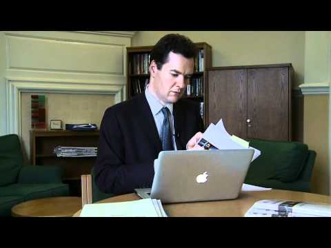 George Osborne   Budget 2010  The day Labour were found out