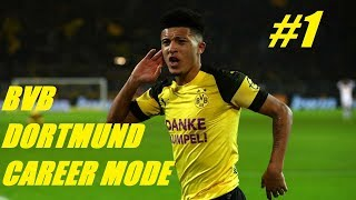 BVB DORTMUND CAREER MODE #1 - Can We Win The League? - Fifa 19 Stream with Gerry Gaming