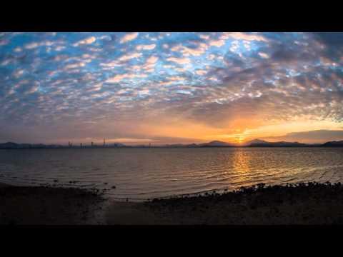 Shenzhen Sunrise Timelapse 1280x720
