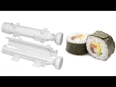 Kitchen Gadget Testing - Sushezi Sushi Bazooka