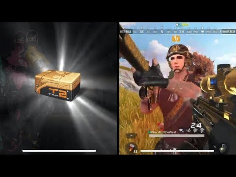 ROS FIRST PERSON 14 KILL WIN, X10 ADVANCE SUPPLY OPENING!(epic item)