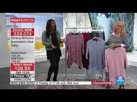 HSN | SERENA WILLIAMS Signature Statement Fashions 03.01.2017 - 12 AM