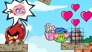 Angry Birds Heroic Rescue - PROTECT PINK STELLA AND BEAT THE BAD PIGGIES