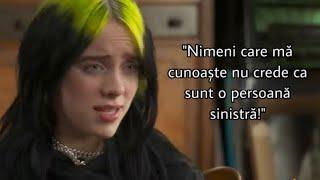 Billie vorbește despre personalitatea sa || Moment din interviu || Billie Eilish România