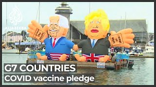 UN says 'global plan' needed after G7 COVID vaccine pledge