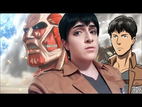 ★ bertolt hoover cosplay makeup tutorial ☆ only drugstore products! ★