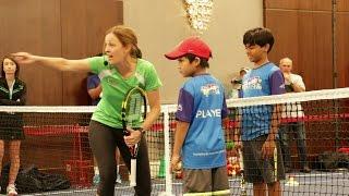 Tennis Games Red Court. Part 7
