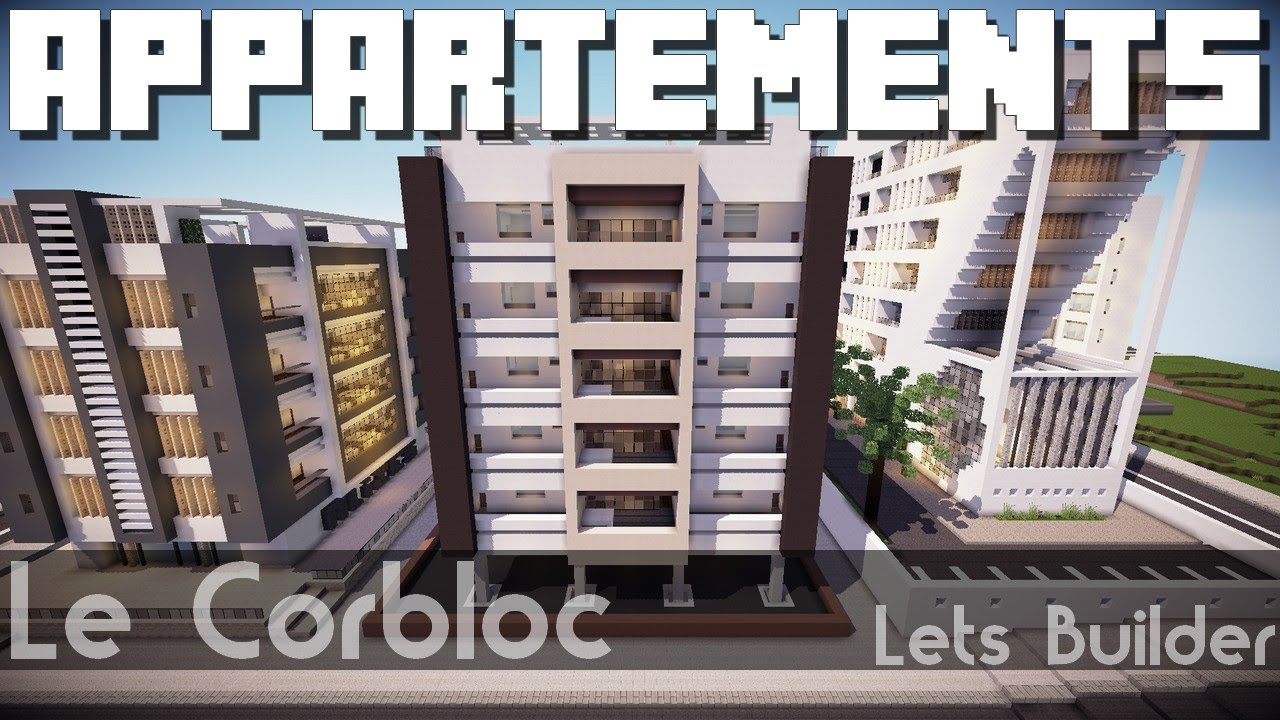 Minecraft appartements modernes youtube - Immeuble moderne minecraft ...