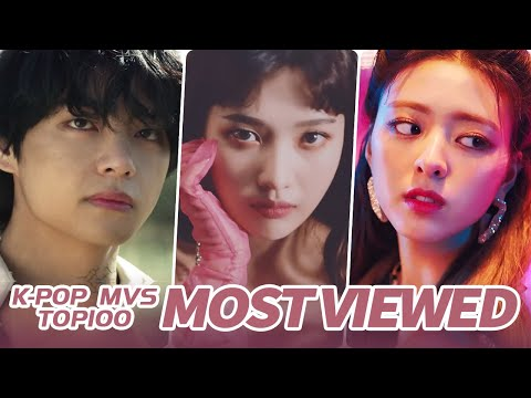 TOP 100 MOST VIEWED K-POP  S OF ALL TIME  • June 2020