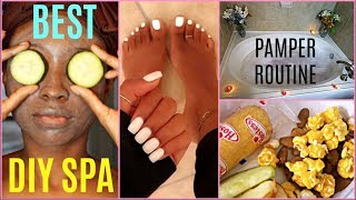 my pamper routine
