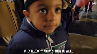 Adorable Boy Explains How he will Greet #CaliphoftheMessiah