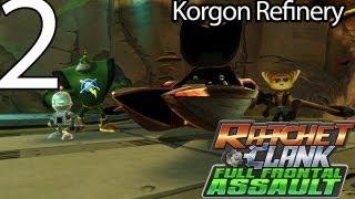 Ratchet & Clank: Full Frontal Assault - Part 2 - The Korgon Refinery