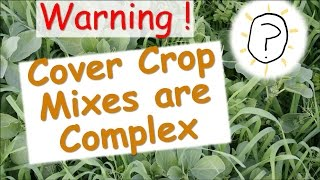 Are Legume-cereal Cover Crop Mixtures A Good Fit For Organic Vegetable Production?