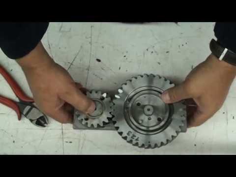24. BMW R75 Geräuschgedämpfter Stirnradsatz