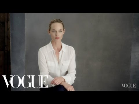 Amber Valletta on Her Commitment to the Environment  The Backstory  Vogue  Episode 1