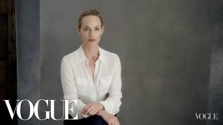 Amber Valletta on Her Commitment to the Environment - The Backstory - Vogue - Episode 1
