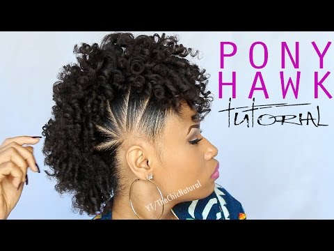 THE PONY HAWK | Natural Hairstyle thumbnail