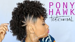 THE PONY HAWK | Natural Hairstyle